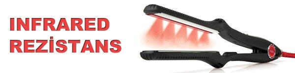 infrared rezistans saç düzleştirici